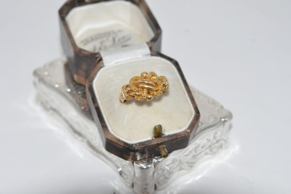 18ct Yellow Gold Cluster Ring